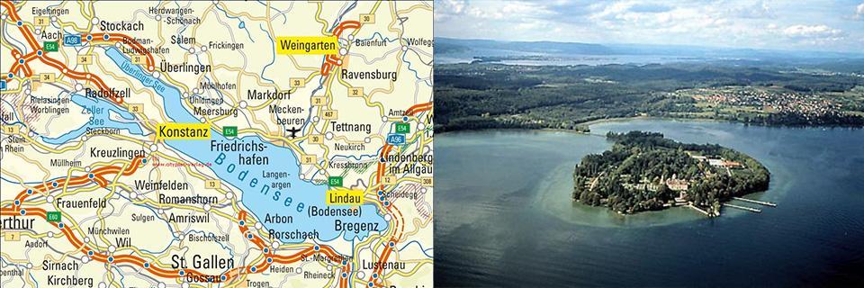 der Bodensee - Lake Constance
